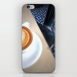 Blue Caffeine  iPhone Skin