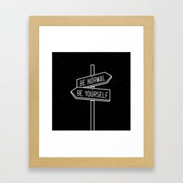 choose one Framed Art Print