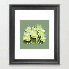 emerald city. Framed Art Print