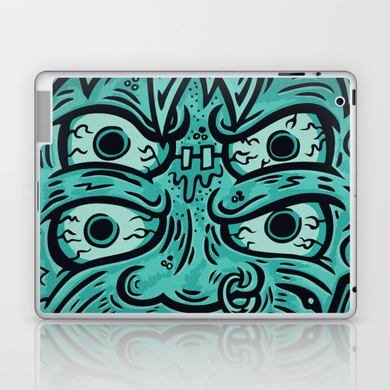 KEEP IT KREEPY Laptop & iPad Skin