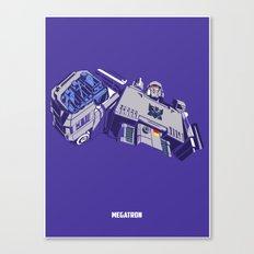 Transformers - Megatron Canvas Print