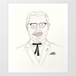 The Colonel Art Print