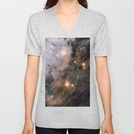 Into the Depths of the Eagle Nebula Unisex V-Neck