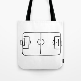soccer football field Tote Bag
