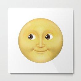 The Whatsapp full moon Metal Print