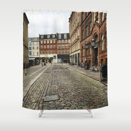 Welcome to Vesterbro Shower Curtain