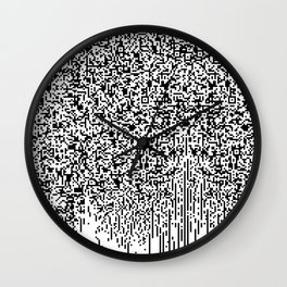 QR-antine V 0.1 Wall Clock