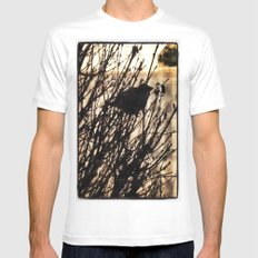Bird  MEDIUM Mens Fitted Tee White