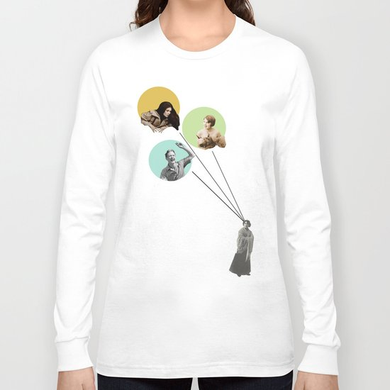 Love triangle and jealousy Long Sleeve T-shirt
