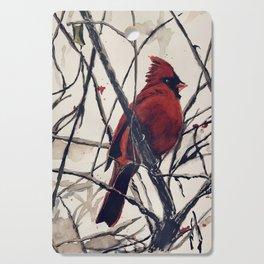 Mr. Cardinal Cutting Board