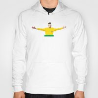 neymar Hoodies featuring Neymar Brasil by lockerroom51