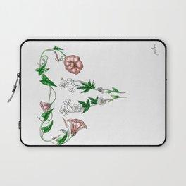 flower uterus Laptop Sleeve