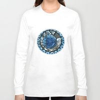 ice Long Sleeve T-shirts featuring Ice by Wealie