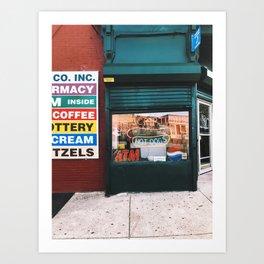 prescriptions//hot dogs Art Print