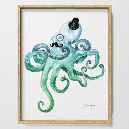 Dapper Octopus Serving Tray