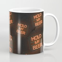 Hold My Beer Neon Bar Light Coffee Mug