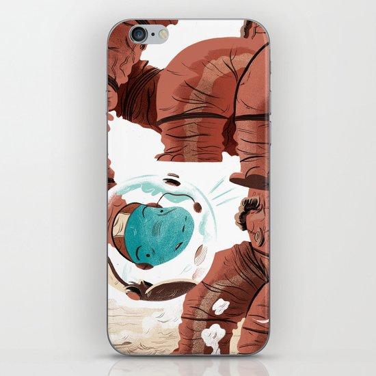 Space Brontosaurus  iPhone & iPod Skin