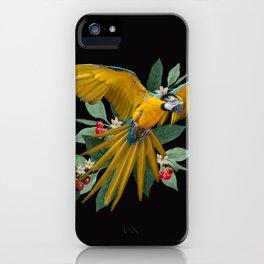Ara Ararauna iPhone Case
