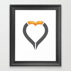 OverLove Framed Art Print