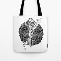 key Tote Bags featuring Key by cemakyol
