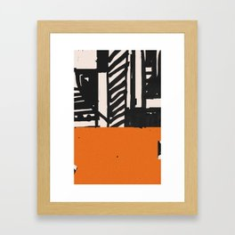 Heute Framed Art Print