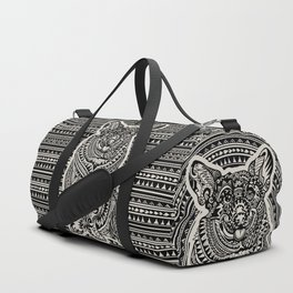 Polynesian Corgi Duffle Bag