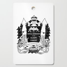The Royal Kingdom of the Sleepy Forest Cutting Board