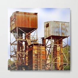 Palafitte Industriali Metal Print