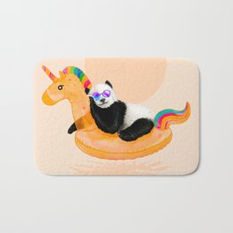 Chillin (Unicorn Panda) Bath Mat