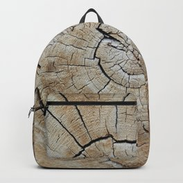 Tree rings of time Backpack