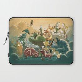 Goblins Drool, Fairies Rule! - Team Goblin Laptop Sleeve
