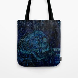 The Skull and the Key Tote Bag