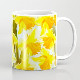 Spring Breeze With Yellow Flowers #decor #society6 #buyart Coffee Mug