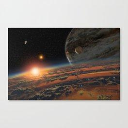Kepler 64 b Canvas Print