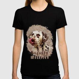 Watercolor Cute Dalmatian T-shirt