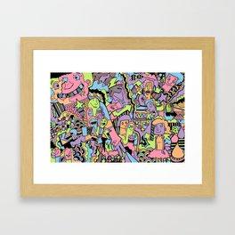 Kolorful Framed Art Print