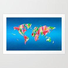 Tulip World #119 Art Print