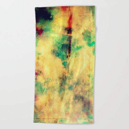 Fume Color Splash 04 Beach Towel