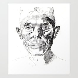 THAI. Art Print