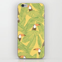 Summer With Toucan iPhone Skin