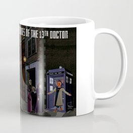 The 13th Doctor and the Paternoster Detective Agency Coffee Mug