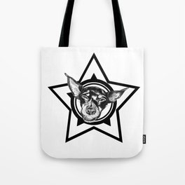 Tyson (black & white) Tote Bag