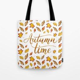 Autumn Time Tote Bag