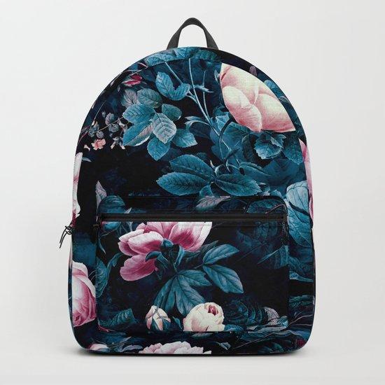 Roses Blue Backpack