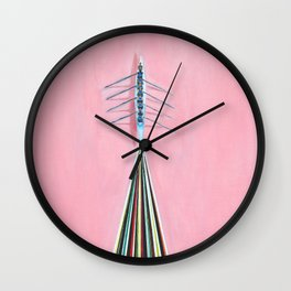 The Rowers Wall Clock
