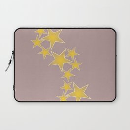 Golden stars Laptop Sleeve