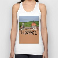 florence Tank Tops featuring Florence by Logan_J