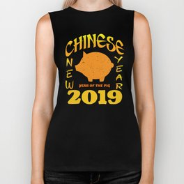 Chinese New Year 2019 - Year of the Pig Biker Tank