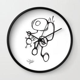 Orbs N Lines - Sneaky Sneaker Wall Clock