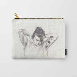 Harry Styles (with a bun) Carry-All Pouch